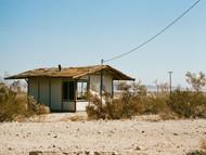 lone structure (Joshua Tree, California)