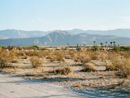 horizon line (Borrego Springs, California)