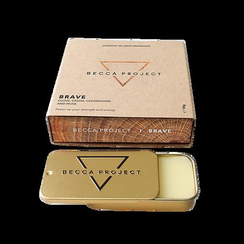 B R A V E -  Essential Oil Solid Fragrance