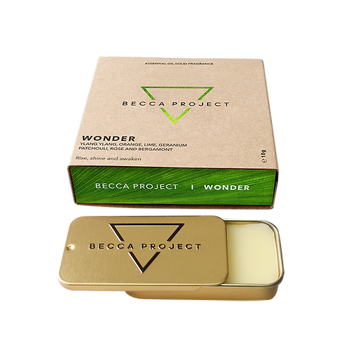 W O N D E R -  Essential Oil Solid Fragrance