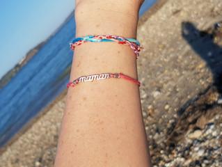 Mes bracelets voyagent en Bretagne !