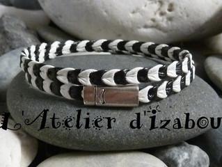 Commentaire d'une cliente satisfaite de son bracelet sur mesure