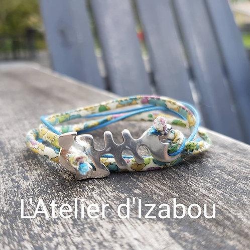 "Bracelet ""Arête de poisson"""