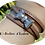 Thumbnail: Bracelet original multitours cuir cousu beige et fermoir noeud