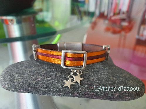 Bracelet brillant étoilé !