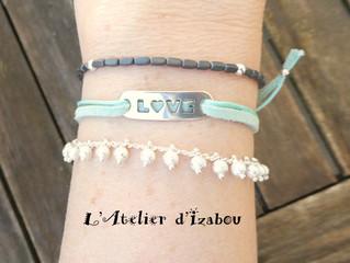 On reste dans le trio de bracelets sur fond de Saint Valentin et de déclaration d'amour...
