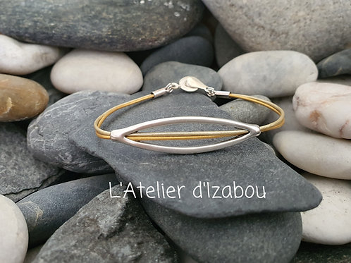 Bracelet fin et féminin