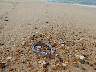 Bracelet en voyage à l'océan