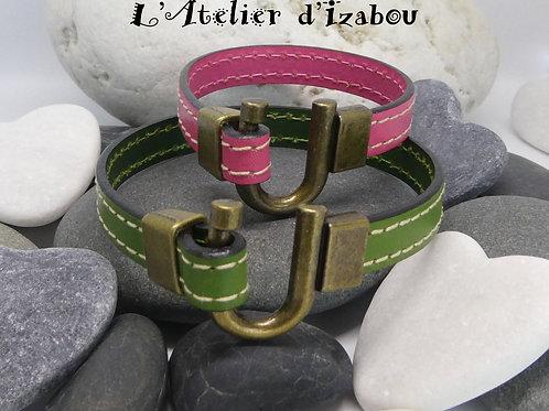 Bracelets duo chic et sobre pour une maman et sa fille