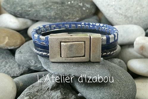 Bracelet bleu !