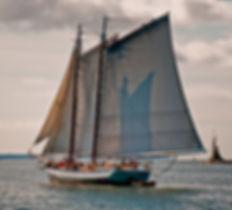 Schooner Grace Bailey, Maine Windjammer Cruises, Camden Maine