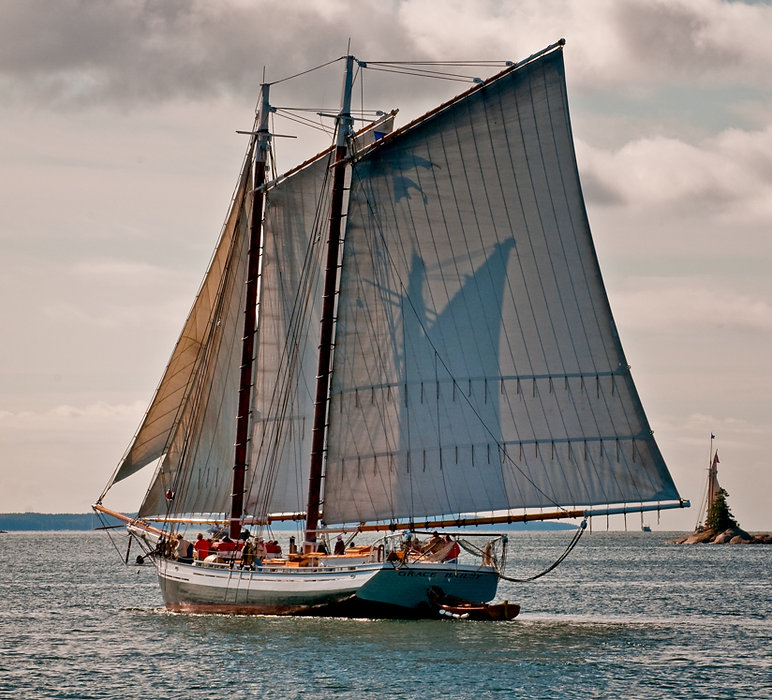 Schooner Grace Bailey, Maine Windjammer Cruises, Camden Maine