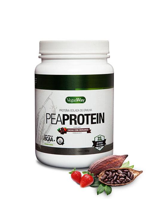 Pea Protein Sabor Cacau com Morango 900g - VeganWay