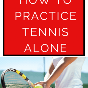 Como melhorar no tênis sozinho