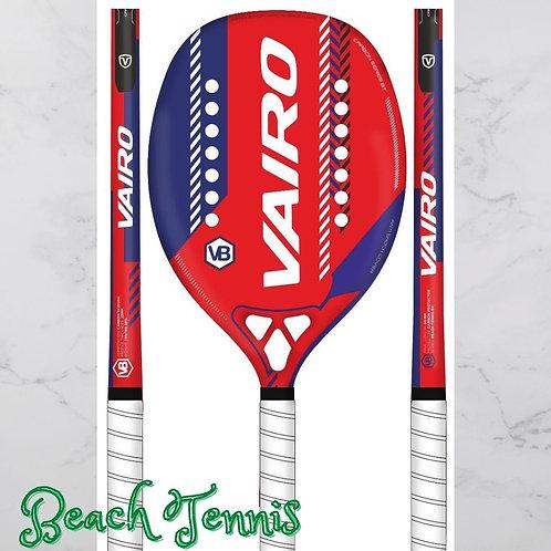 Vairo Carbon Series Beach Tennis Vermelha