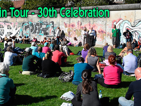 Kryon Berlin Tour & Seminar                30th Anniversary of the Fall of the     Berlin Wall
