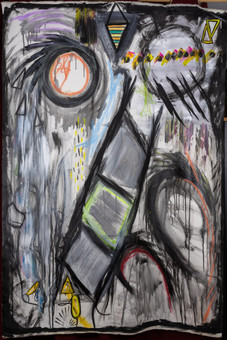 """The Tower Crumbles"" Edith Machattie"