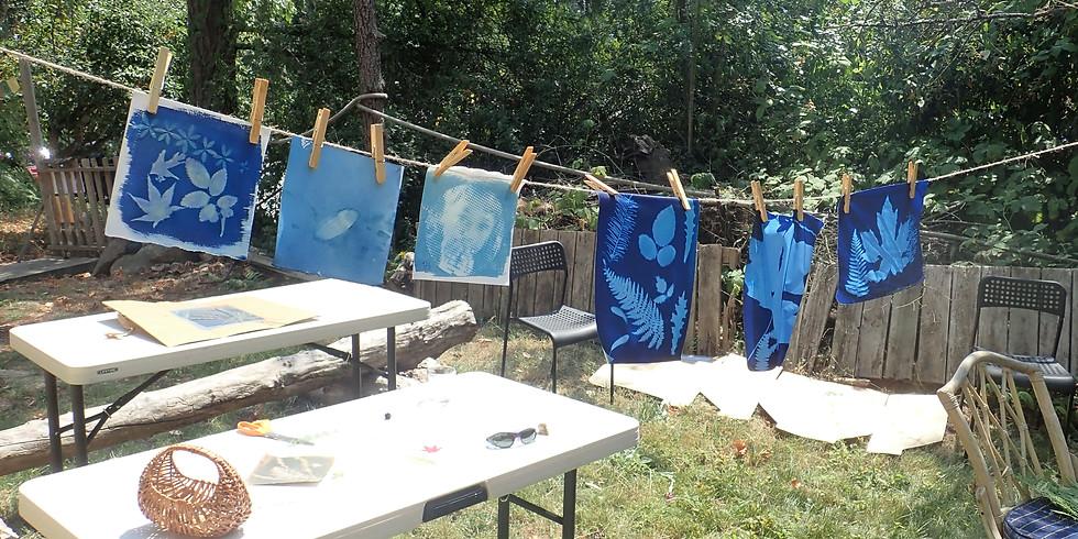 Cyanotype Sun Print Magic Workshop