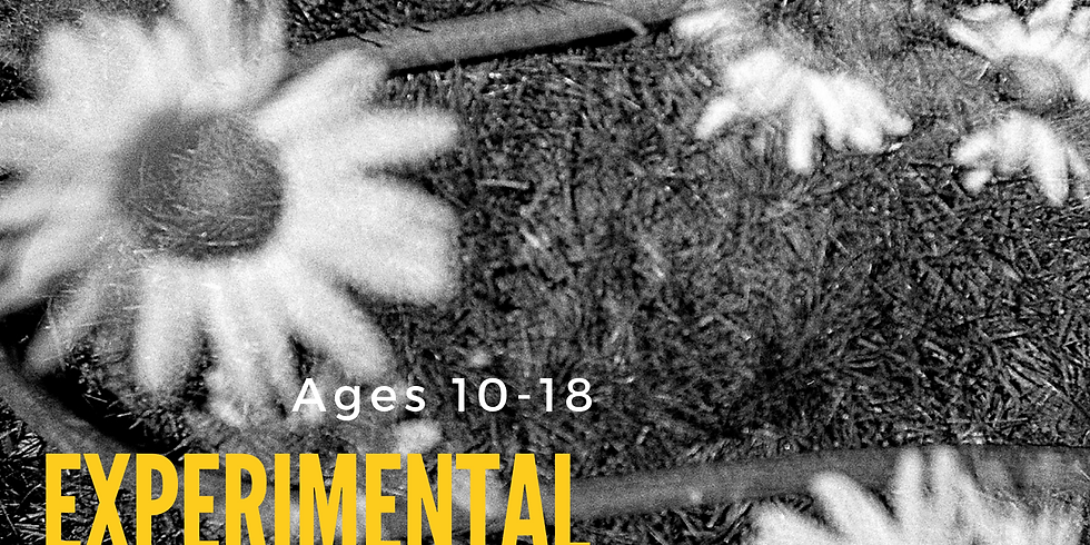 Experimental Film Photography for ages 10-18