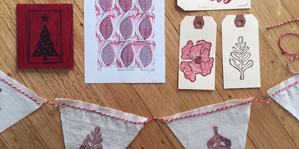 Printmaking Workshop with Dana Ayotte