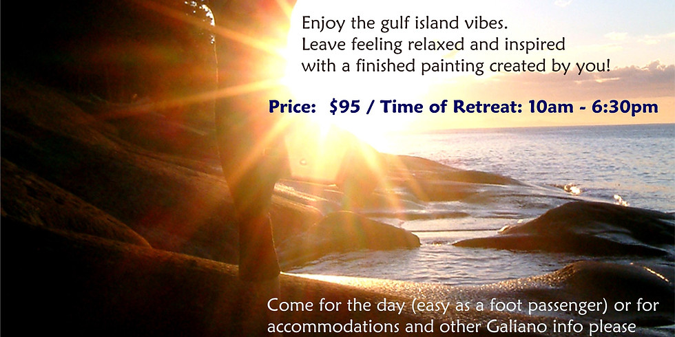 Sourcing from Nature: A Day of Yoga and Art on Galiano Island with Trisha Wilson and Roksan Kohen