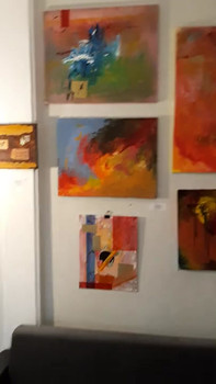 Abstract Group Exhibition  Dec 11 -24