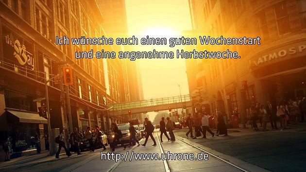 Schöner Wochenstart Uhr Deutschland Uhrone