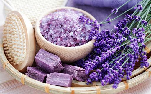 Pure Lavender Pedi & Mani