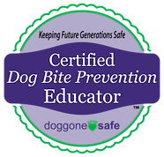 Certified Dog Bite Prevention Educator b