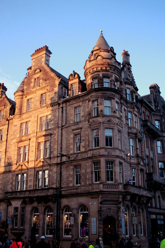 First Impressions of a City: Edinburgh
