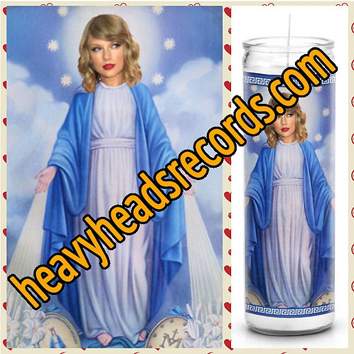 Taylor Swift Celebrity Prayer Candle