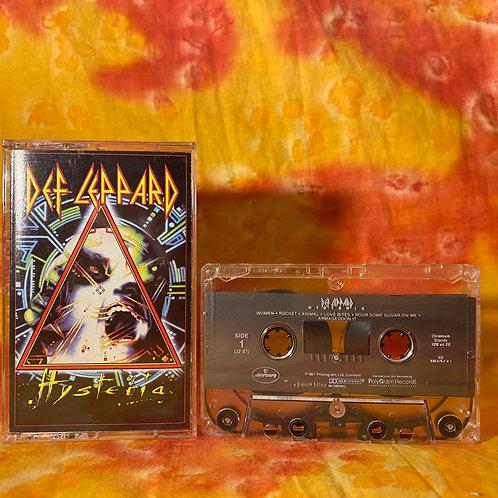 Def Leppard - Hysteria [Cassette]
