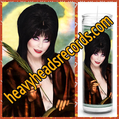 Elvira Celebrity Prayer Candle