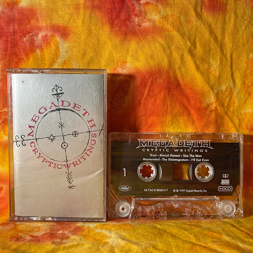 Megadeth - Cryptic Writing [Cassette]