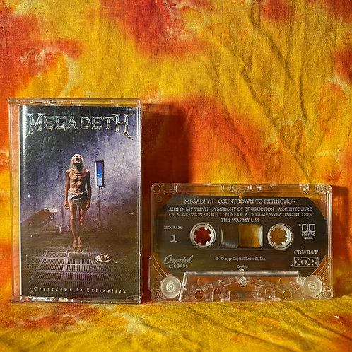 Megadeth - Countdown to Extinction [Cassette]