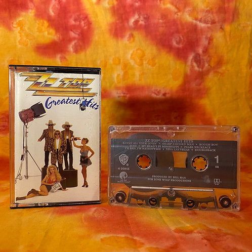 ZZ Top ‎– Greatest Hits [Cassette]