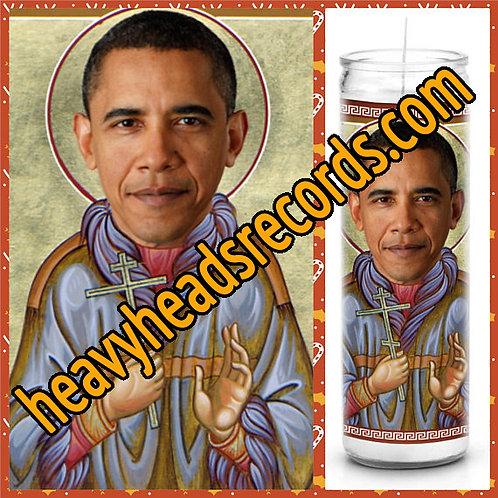 Barack Obama Celebrity Prayer Candle