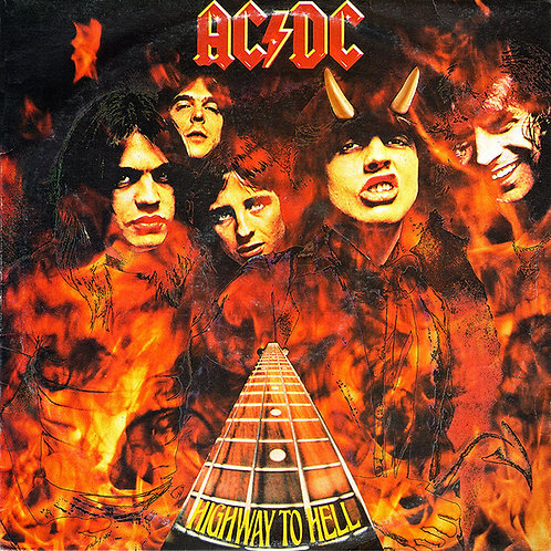 AC/DC - Highway to Hell [1ST PRESS][AUSTRALIA]
