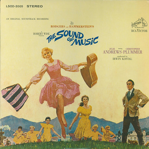 Sound of Music Soundtrack [LP]