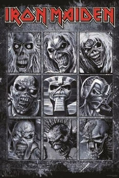 Iron Maiden Faces of Maiden [Poster]