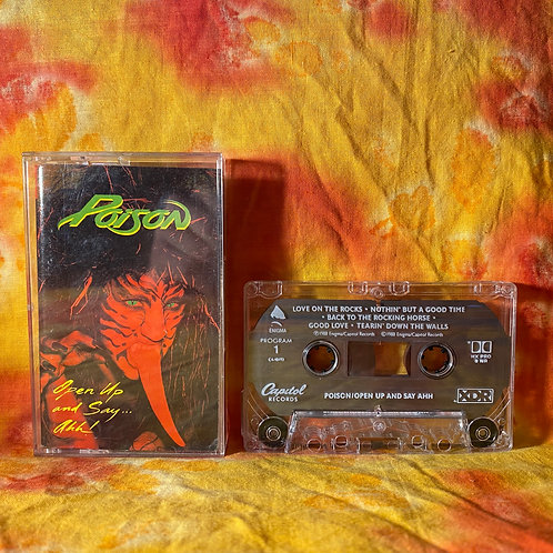 Poison - Open Up and Say Ahhh [Cassette]