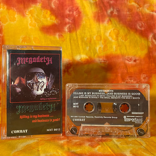 Megadeth - Killing is My Business... and Business is Good![Cassette]
