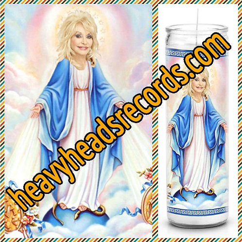 Dolly Parton Celebrity Prayer Candle