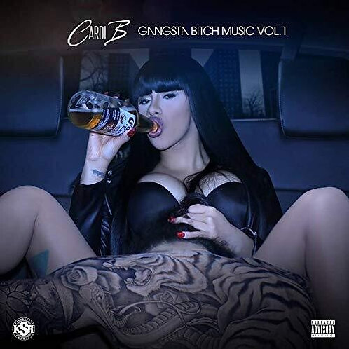 Cardi B. - Gangsta B*tch Vol. 1 - New Vinyl Record LP