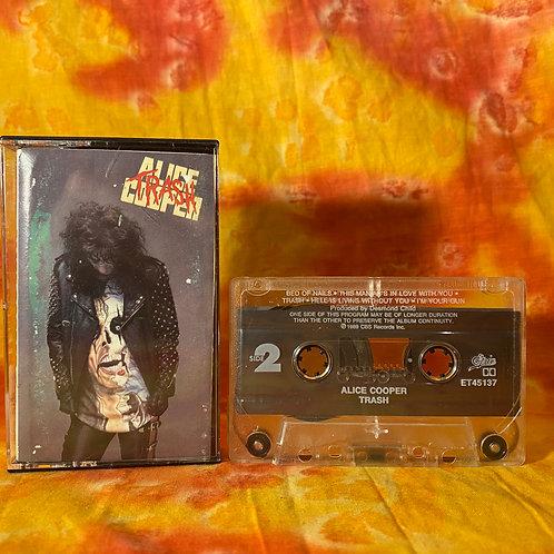 Alice Cooper - Trash [Cassette]