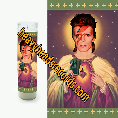 David Bowie Celebrity Prayer Candle