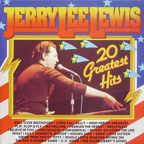 Jerry Lee Lewis - 20 Greatest Hits [LP]