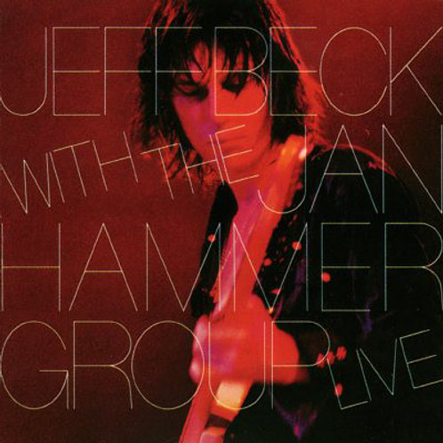 Jeff Beck with the Jan Hammer Group Live [LP]