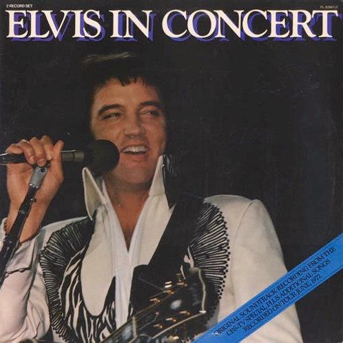 Elvis Presley - Elvis in Concert [2LP]