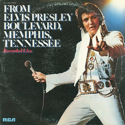 Elvis Presley - From Elvis Presley Boulevard, Memphis Tennessee [LP]